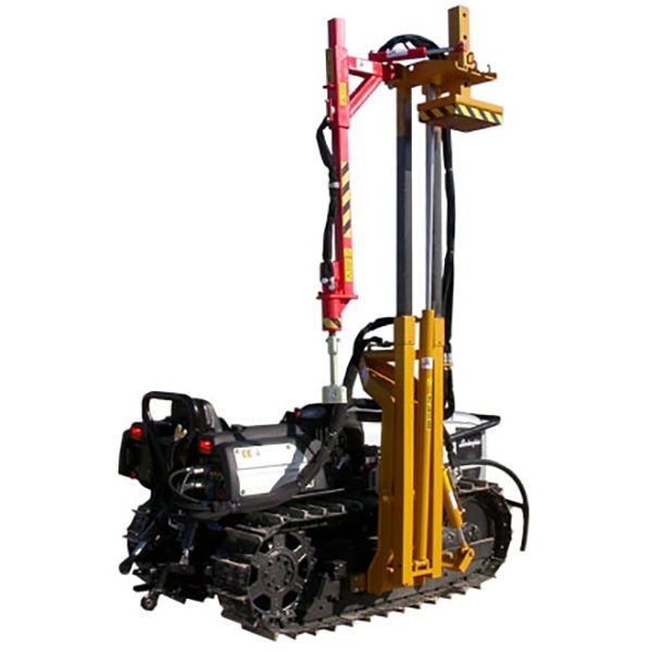 Piantapali dolmec di pietro mezzi e macchine per l for Piantapali manuale